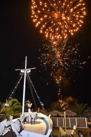 tinos events akti aegeou fireworks wedding
