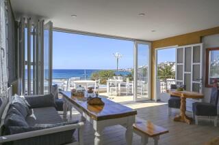 tinos events akti aegeou sea view lounge